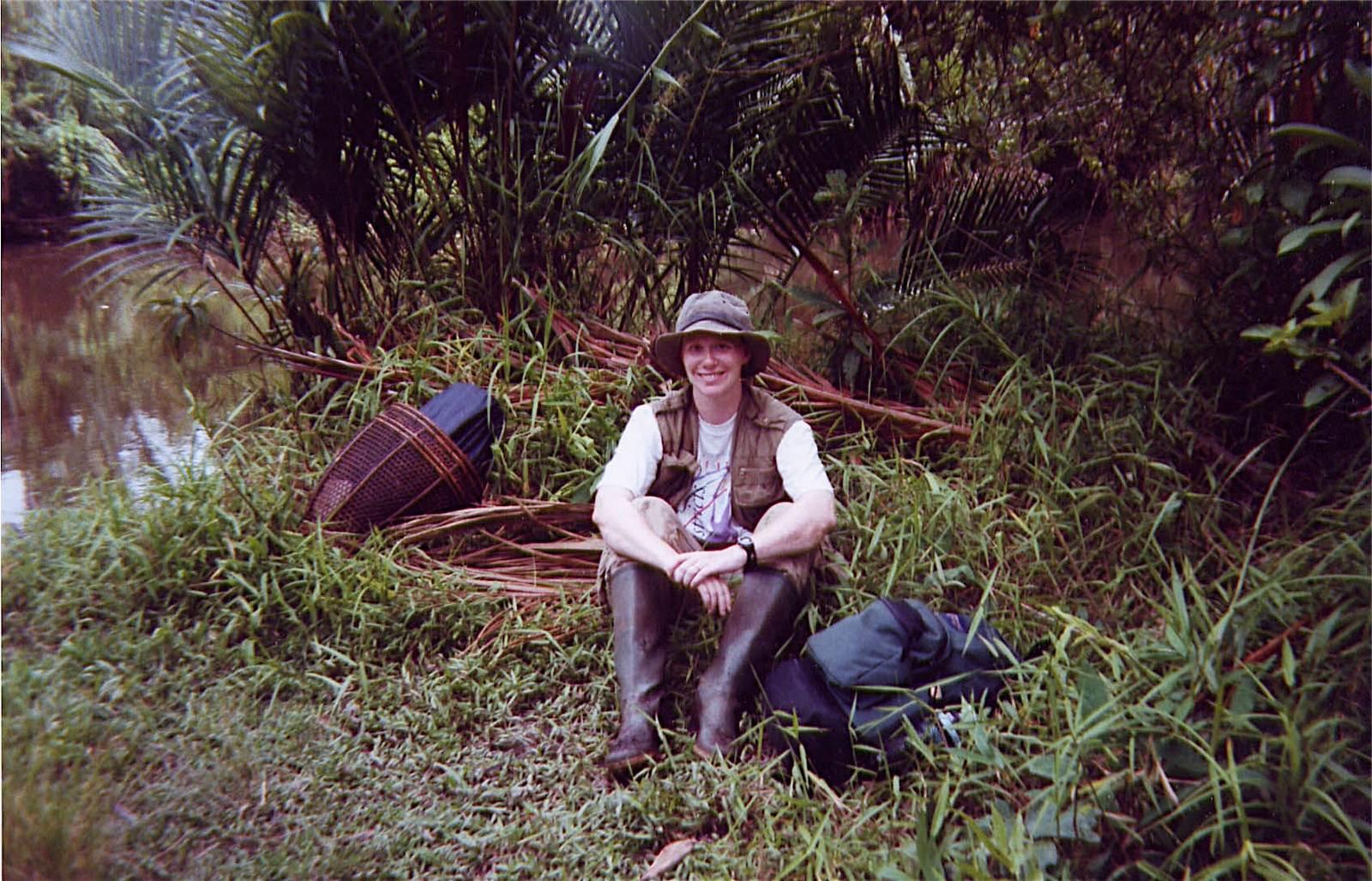 Photo of Danielle on North Pagai Island